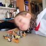 Feralchild with her cat friends