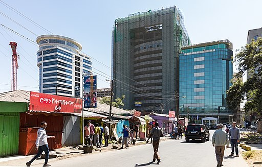 Addis Ababa City view