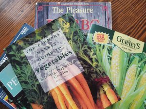 Image: Picture of Seed Catalogs and Gardening Books