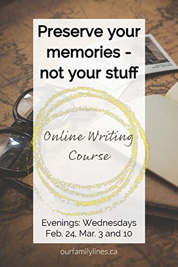 Online writing course.