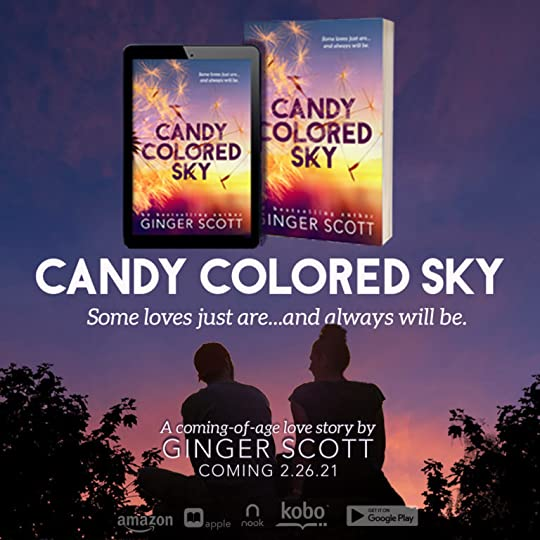 Candy Colored Sky by Ginger Scott Releases Feb. 26 on all Ebook Platforms