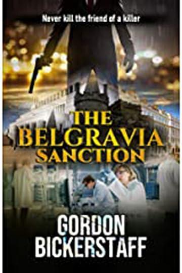 The Belgravia Sanction by Gordon Bickerstaff Cover