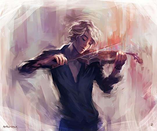 Jem playing the violin! | Shadow hunters, Cassandra clare, The infernal devices