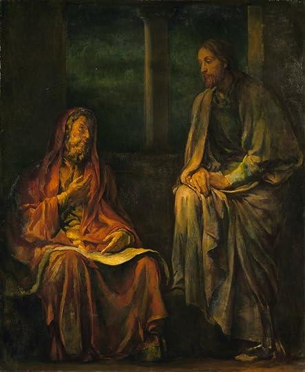 Visit of Nicodemus to Christ, by John La Farge, c. 1880. Smithosonian American Art Museum, Washington, D.C., United States.