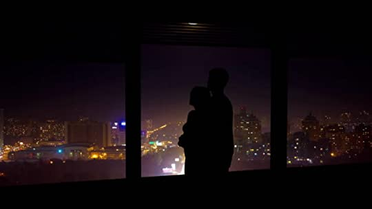 The Couple Hugs Near The Window On A Night City Background Time Lapse Stock Video - Download Video Clip Now - iStock