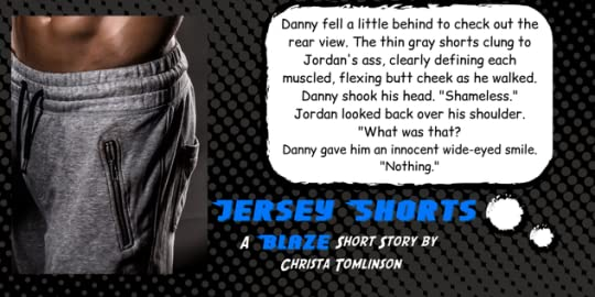 Quote from Jersey Shorts A Superhero Romance Short Story