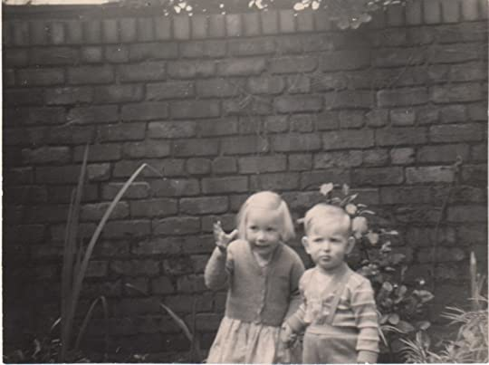 Image of Clare and her brother growing up in Liverpool
