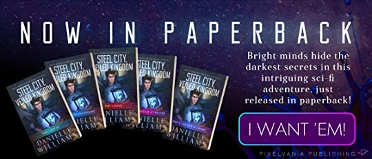 STEEL CITY, VEILED KINGDOM is now out in paperback! Click here to get your copy on Amazon.