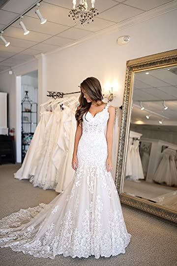 Wedding Dress Try-On   Wedding dresses lace, Pearl wedding dress, Wedding dresses