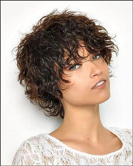 Kurze haare locken sidecut