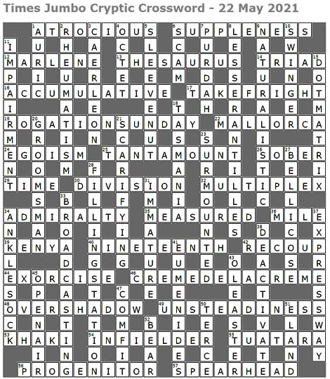 Salad Oil Holder Crossword Puzzle Clue