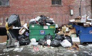 Garbage piling up? Relief is in sight   The Seattle Times