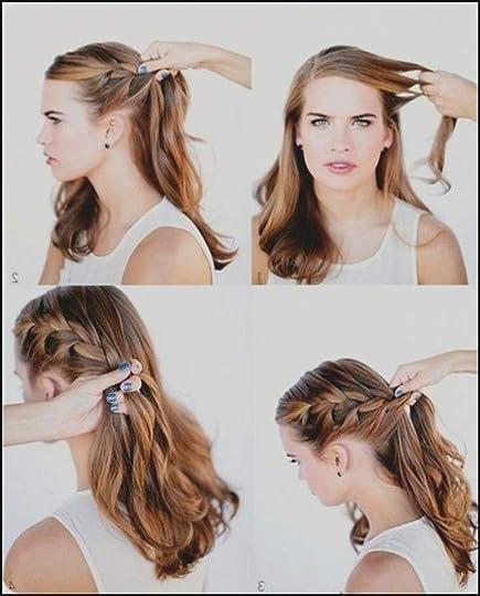 Abschlussball frisuren lange haare offen