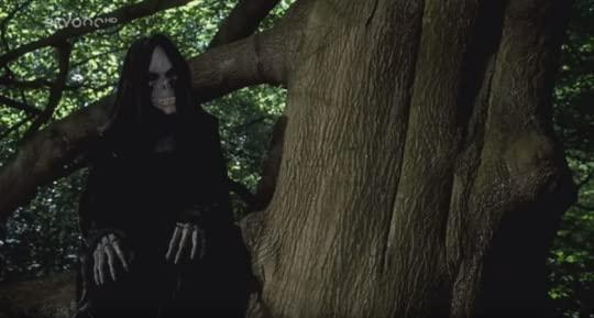 Death sitting in a tree