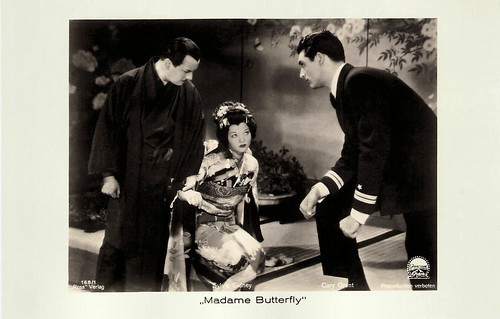 Sylvia Sidney and Cary Grant in Madame Butterfly (1932)