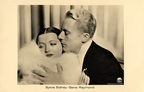 Sylvia Sidney and Gene Raymond in Behold My Wife! (1934)