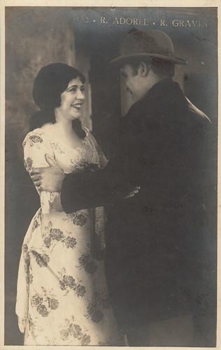 Renée Adorée and Ralph Graves