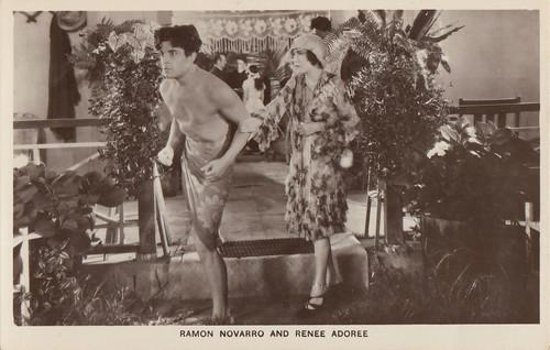Renee Adoree and Ramon Novarro in The Pagan (1929)