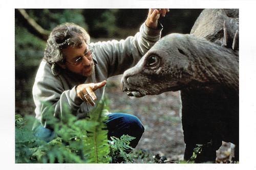 Steven Spielberg directing The Lost World - Jurassic Park (1997)