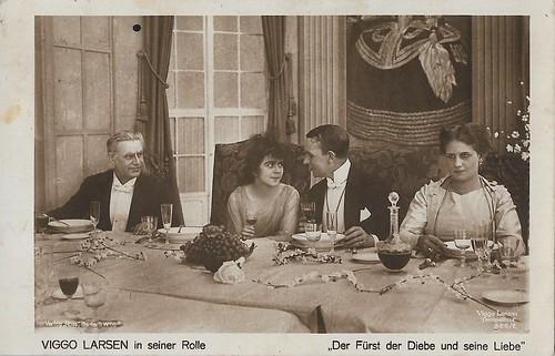 Viggo Larsen in Der Fürst der Diebe und seine Liebe (1919).