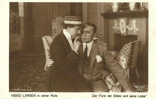 Viggo Larsen in Der Fürst der Diebe und seine Liebe (1919)