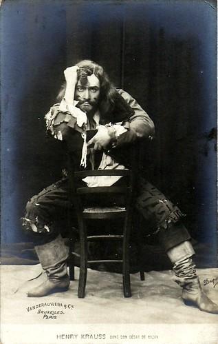 Henry Krauss in Don César de Bazan