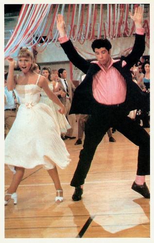 John Travolta and Olivia Newton John in Grease (1978)