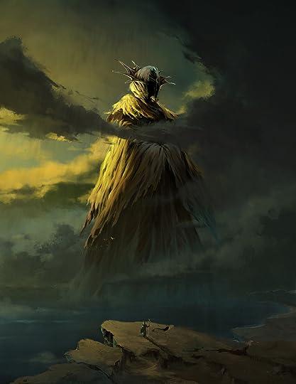 ArtStation - The King in Yellow, Aria Wang