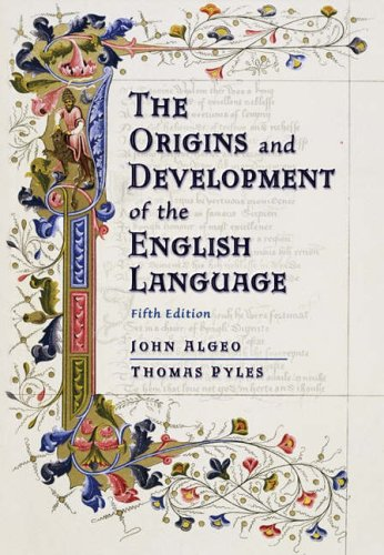 Answer Key for Algeo/Pyles the Origins and Development of the English Language, 5th  by  John Algeo
