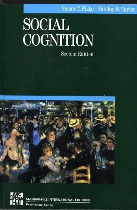 Social Cognition Susan T. Fiske
