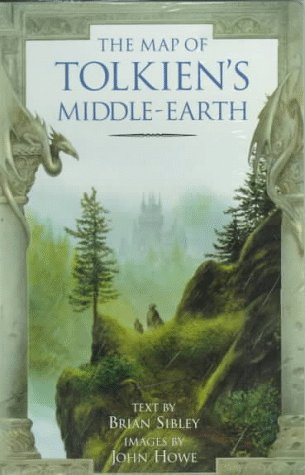 The Map of Tolkiens Middle-Earth  by  Brian Sibley