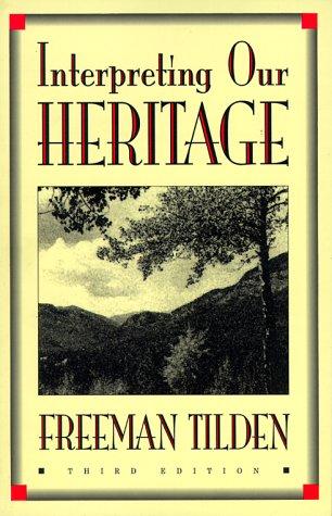 The National Parks Freeman Tilden