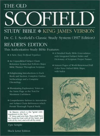 The Old ScofieldRG Study Bible, KJV, Readers Edition: King James Version  by  Oxford University Press
