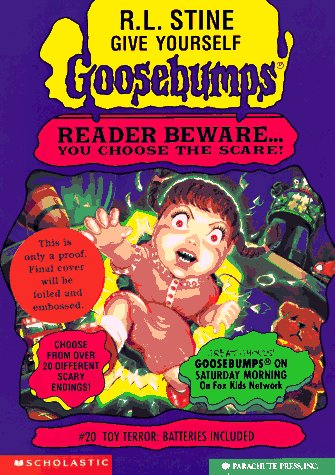 Toy Terror: Batteries Included (Give Yourself Goosebumps, #20)  by  R.L. Stine