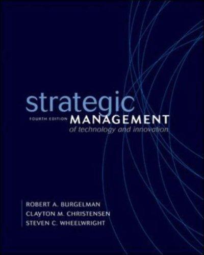 Inside Corporate Innovation Robert A. Burgelman