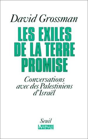 Les exilés de la Terre promise  by  David Grossman