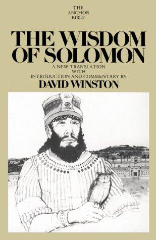 Wisdom of Solomon David Winston