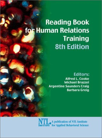 Reading Book for Human Relations Training  by  Alfred L. Cooke