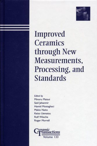 Improved Ceramics Through New Measurements, Processing, and Standards  by  Minoru Matsui