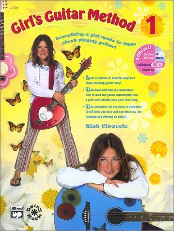 Girls Ukulele Method, Bk 1: Everything a Girl Needs to Know about Playing Ukulele!, Book, CD & DVD Tish Ciravolo