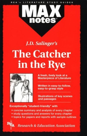 Max Notes J. D. Salingers the Catcher in the Rye (Max Notes Series)  by  Robert S.   Holzman