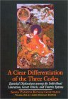 A Clear Differentiation of the Three Codes: Essential Distinctions Among the Individual Liberation, Great Vehicle, and Tantric Systems Sa-Skya
