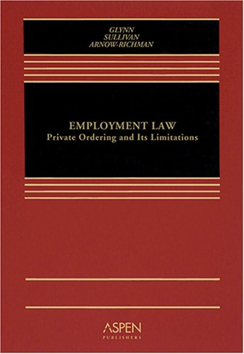 Employment Discrimination (1990 Supplement)  by  Charles A. Sullivan