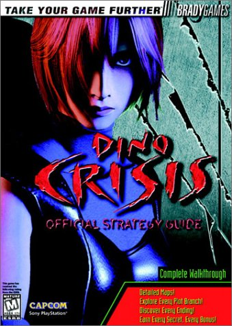 Dino Crisis Official Strategy Guide BradyGames