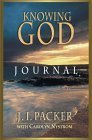 Knowing God Journal  by  J.I. Packer