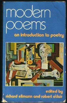 Modern Poems: An Introduction to Poetry  by  Richard Ellmann