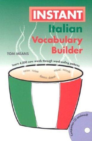 Instant Italian Vocabulary Builder Hippocrene Books