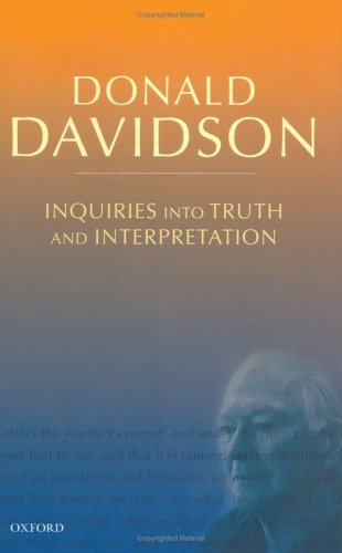 Essays on Actions and Events Donald Davidson
