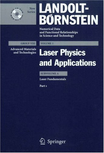 Laser Fundamentals: Part 1  by  Horst Weber