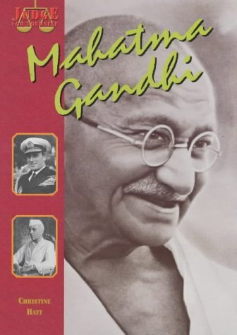 Mahatma Gandhi  by  Christine Hatt